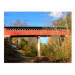 Chiselville Covered Bridge Support Vermont Postcards