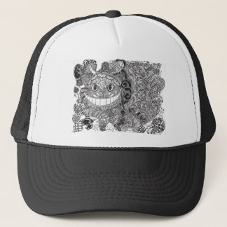 Chishire Cat design Trucker Hat