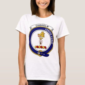 Chisholm Clan Badge T-Shirt