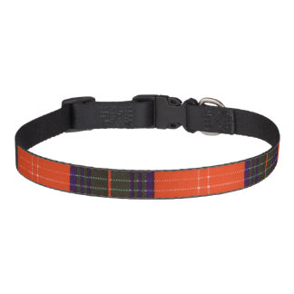 Chisholm clan Plaid Scottish tartan Pet Collar