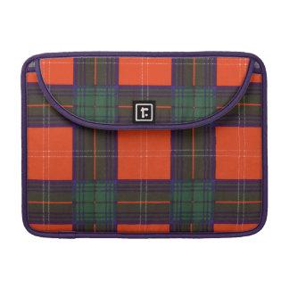 Chisholm clan Plaid Scottish tartan Sleeves For MacBook Pro