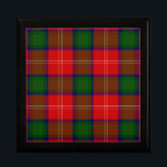 "Chisholm Jewelry Box<br><div class=""desc"">Chisholm tartan</div>"