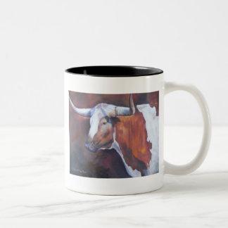 Chisholm Longhorn Two-Tone Coffee Mug