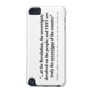 Chisholm v Georgia 2 Dall US 419 1 L ed 454 1794 iPod Touch (5th Generation) Covers