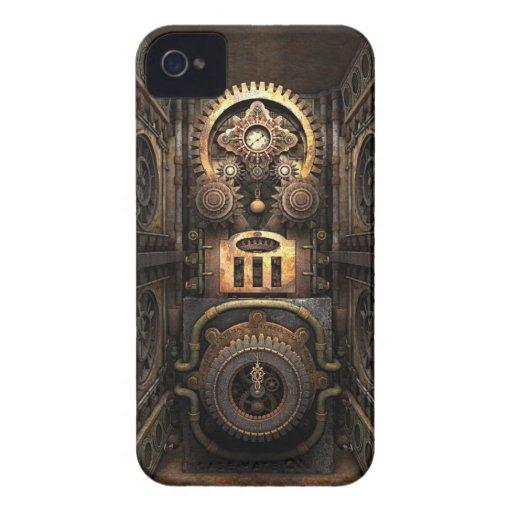 Chisme infernal de Steampunk Case-Mate iPhone 4 Carcasas