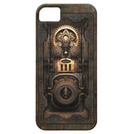 Chisme infernal de Steampunk (incluido) iPhone 5 Case-Mate Cobertura
