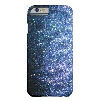 Chispa azul del caso del iPhone 6 del brillo Funda De iPhone 6 Slim