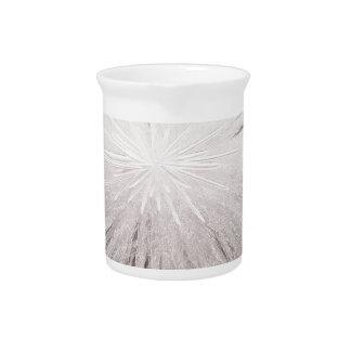 Chispa blanca jarra de beber