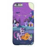 Chispa crepuscular con la calabaza de Halloween Funda Barely There iPhone 6