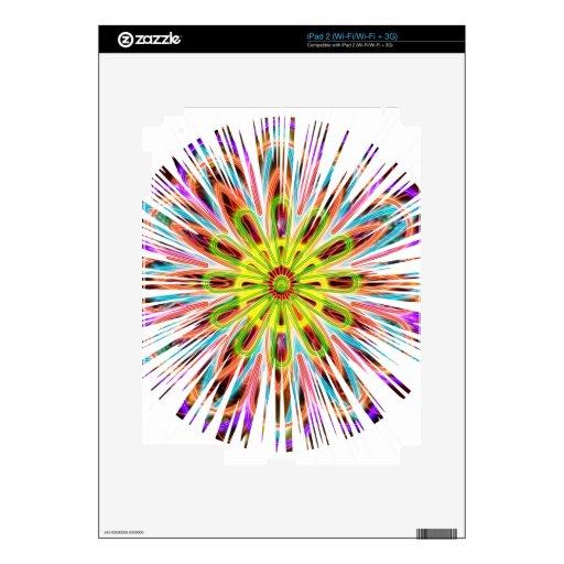Chispa de Chakra del girasol - colores felices iPad 2 Skin
