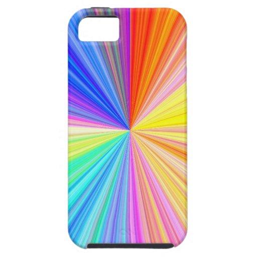 Chispa de ColorWheel - disfrute de la alegría de Funda Para iPhone 5 Tough