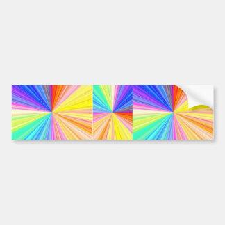 Chispa de ColorWheel - disfrute de la alegría de Pegatina Para Auto
