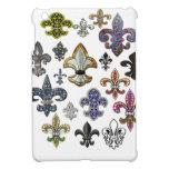 Chispa de la joya de Flor New Orleans de la flor d iPad Mini Protectores