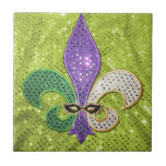 Chispa de la joya de New Orleans de la flor de lis Tejas Ceramicas