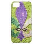 Chispa de la joya de New Orleans de la flor de lis Funda Para iPhone 5C