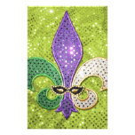 Chispa de la joya de New Orleans de la flor de lis Papelería