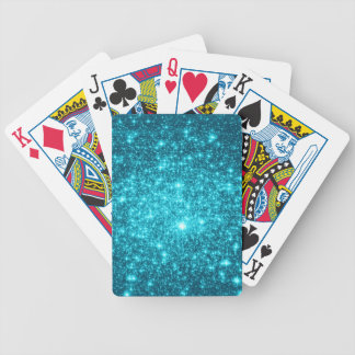 Chispa de la turquesa baraja cartas de poker