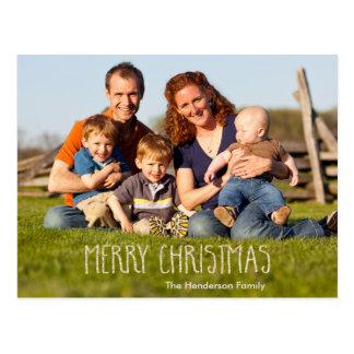 Chispa de la vainilla de las Felices Navidad Postales