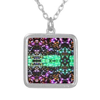 Chispa de los colores de luces collar personalizado