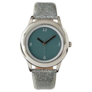Chispa de plata D Reloj De Mano