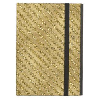 Chispa de Ric Rak del zigzag del oro metálica