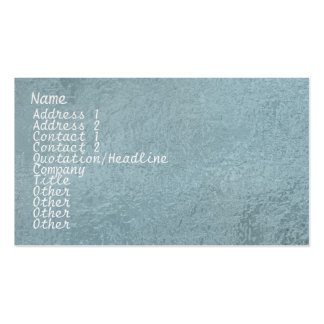 Chispa de seda del satén ART101 azul clara Tarjeta Personal