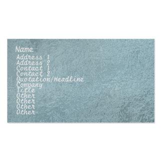 Chispa de seda del satén ART101 azul clara Tarjetas De Visita