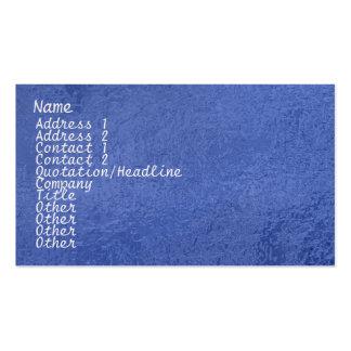 Chispa de seda del satén ART101 azul marino Plantilla De Tarjeta De Visita