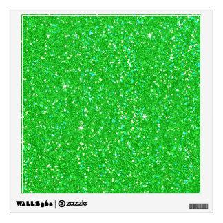 Chispa del efecto del brillo del verde esmeralda vinilo adhesivo