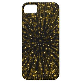 Chispa del fuego artificial del resplandor solar funda para iPhone SE/5/5s
