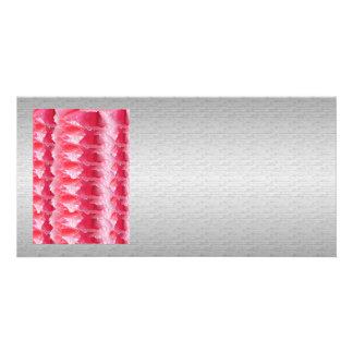 Chispa gráfica de plata de seda del rosa de la plantilla para tarjeta de foto