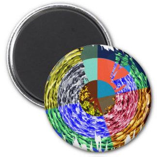 Chispa magnífica de NOVINO - gráficos por Navin Imán Redondo 5 Cm