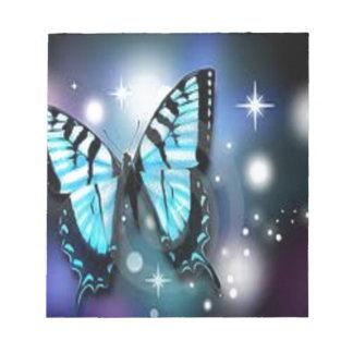 chispa-mariposa libreta para notas