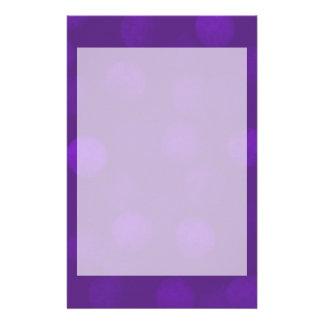 Chispa púrpura papelería personalizada