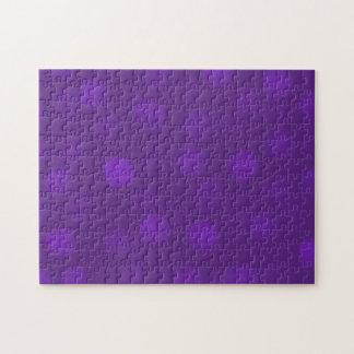Chispa púrpura rompecabezas con fotos