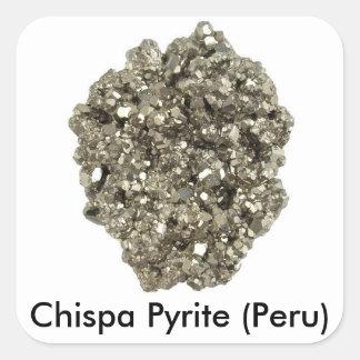 Chispa Pyrite Stickers