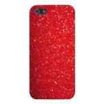 Chispa roja iPhone 5 cárcasa