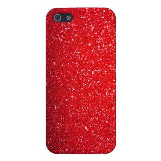 Chispa roja iPhone 5 carcasa