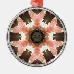 ¡Chispa rosada del cuarzo color de rosa! Ornatos