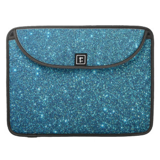 Chispas azules lindas del brillo fundas macbook pro