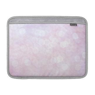 Chispas brillo del rosa en colores pastel mate funda macbook air