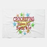 Chispas Crocheting Toalla De Cocina