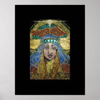 Chispas de KIW: St. Sunniva del milímetro Poster