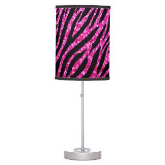Chispas de moda del brillo del Glitz del estampado Lámpara De Mesa