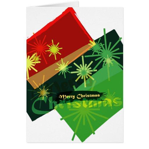 Chispas de Navidad Felicitaciones