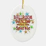 Chispas del baile de salón de baile ornamentos de reyes