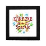 Chispas del Karaoke Cajas De Joyas