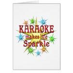 Chispas del Karaoke Felicitaciones