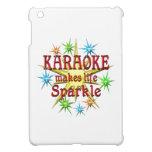 Chispas del Karaoke iPad Mini Cárcasa