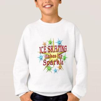 Chispas del patinaje de hielo sudadera